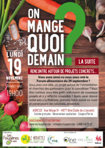 Forum alimentaire @ Salle des Conseils